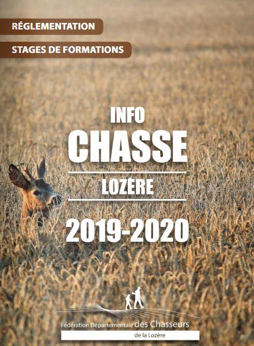 Infos chasse 2019-2020 en ligne