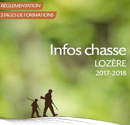 Infos chasse 2017-2018 en ligne