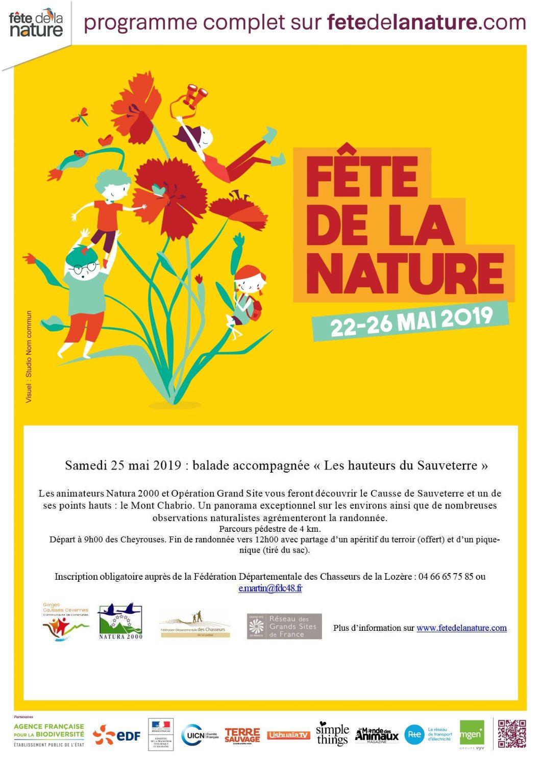 Le 25 mai sur le Sauveterre, la Nature se fête en Mouvement(s) !